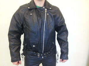 Hot Leathers Genuine Leather Motorcycle Suit Cambridge Kitchener Area image 6