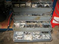4 drawer cabinet complete with body shop automotive hardware