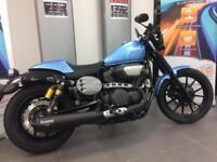 YAMAHA XV950R SINGLE SEAT COVER AKRAPOVIC EXHAUST DELIVERY ARRANGED
