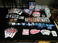 Hockey Cards and Collectibles LOT