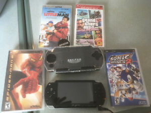 PSP W Games & Movies