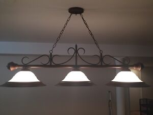 Pool table / dining table light