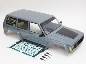 Axial jeep body