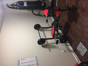 Multi function bench press and weights