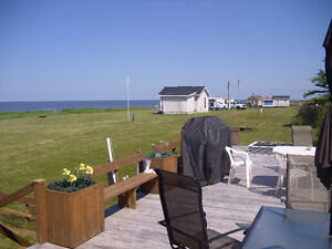 Water front land and cottage with 4+acres