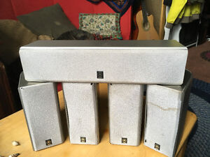 various speakers and a 5CD kenwood player $60 for all