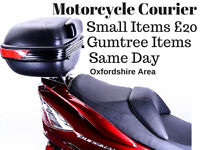 Motorcycle Courier Oxfordshire-We pick up your Gumtree item or any items and deliver them to you.
