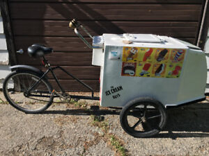 Great Summer Job for a Young Entrepreneur  - Ice Cream Bike