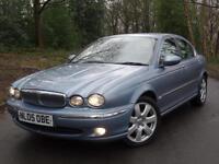 2005 05 Jaguar X-TYPE 2.0D Sovereign..'ALPINE SOUND'.. HIGH SPEC!!..FSH!!