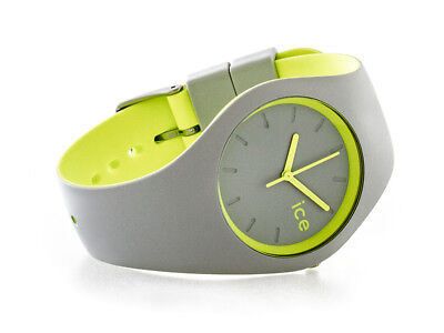 ✅ICE-WATCH 001500 Ice Duo Grey Yellow Armbanduhr✅ (Ice Uhren)