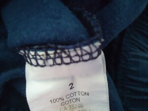 Boys Size 2 Navy Cotton Short Kingston Kingston Area image 3