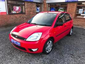 Ford Fiesta 1.4TDCi Turbo Diesel ( a/c ) Zetec 5 Door Hatchback P/EX 2 CLEAR