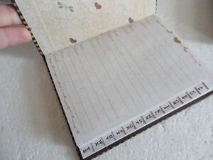 Brand new in box set of 4 journal diary photo frame magnet London Ontario image 7