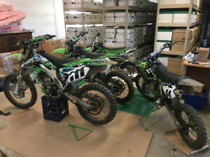 Complete part out - 2008 kx250f