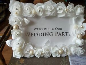 For Sale: Wedding Items