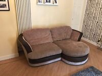 Beige 3 seater sofa in perfect condition