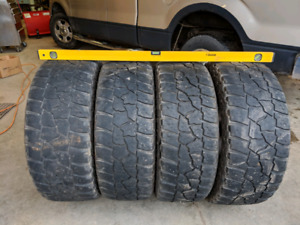 """Mickey Thompson 20"""" tires with rims"""
