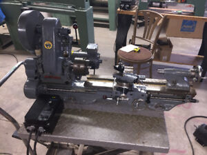 Myford ML7 metal Lathe with new motor and electronic variable sp
