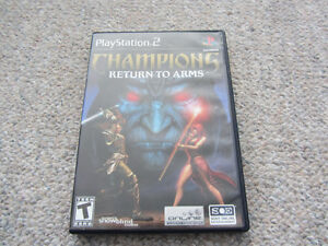 Champions Return To Arms For Playstation 2 (PS2)
