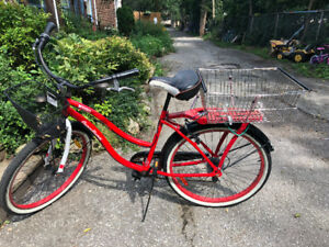 Red vintage BIKE. $300. Please contact may be discounted!
