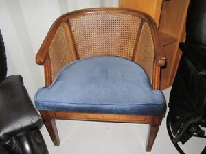 Chair - blue accent chair