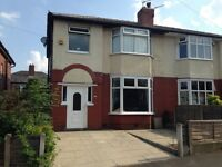 3 bed semi detached, Smithills, BOLTON