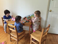 WESTBORO infant space in legal home-based daycare