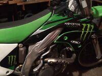 2006 Monster energy kx450f