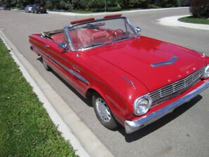1963 Ford Falcon Convertible - excellent running car, Moving