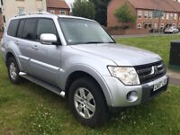 2008 Mitsubishi shogun 3.2 turbo diesel 7 seater no swap PX