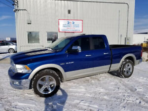 2010 Dodge Ram 1500 Laramie-5.7HEMI-4WD-LEATHER-SUNROOF-ALLOYS