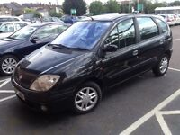 2003 RENAULT SCENIC AUTOMATIC MOT TAX LEATHER