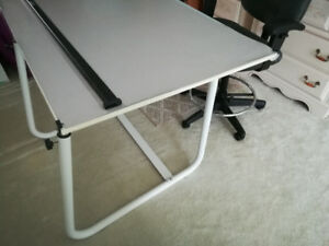 Drafting Table + Chair Students for architecture, Interiordesign