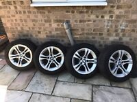 BMW E90 16 inch Run Flat tyres and wheels