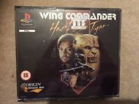 Playstation wing commander 111 game