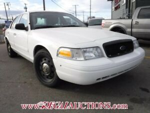 2011 FORD CROWN VICTORIA  4D SEDAN