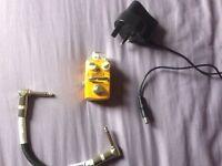 Guitar looper pedal