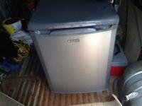 Silver freezer
