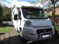 ADRIA CORAL S660SL, TWIN SINGLE BEDS, REAR GARAGE, LOW PROFILE, LOW MILEAGE