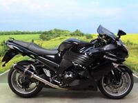 Kawasaki ZZR1400 ABS **SUPERB EXAMPLE WITH AFTERMARKET EXHAUSTS**