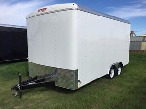 2016 TNT 8.5x16ft Enclosed Trailer w/12'' Extended Height $8999 Edmonton Edmonton Area image 2