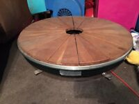 Round table top Hob/ bbq
