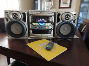 Pioneer XR-A670 CD Cassette AM/FM Receiver- 140 watts rms