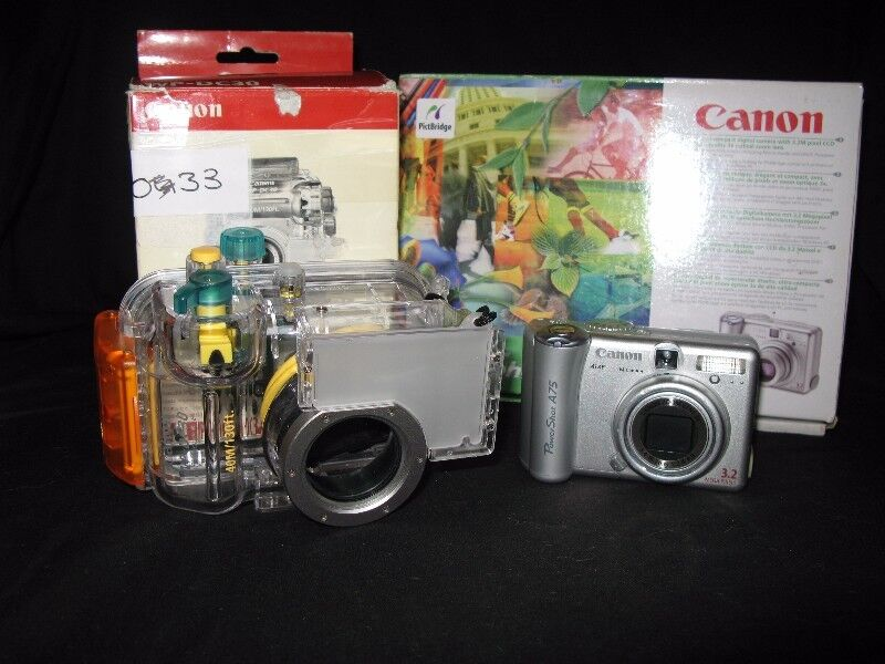 Underwater Camera : Canon PowerShot A75  and WP-DC30  housing