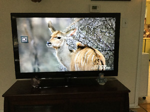 "46"" LCD Samsung TV in excellent condition"