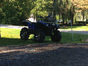 Yamaha grizzly 700 eps bas millage