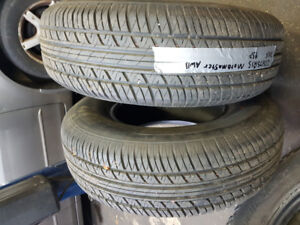 selling A set of two 235/75R15 all season MOTOMASTER tires