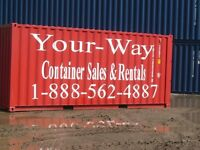 Barrie, Orillia, Muskoka Storage containers for rent from 80./mo