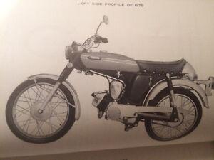 1972 Yamaha G7S 75cc Service Manual