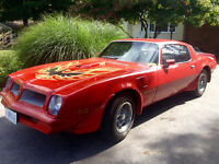 76 pontiac firebird trans am,rebuilt numbers matching big block
